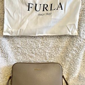 Furla never used crossbody bag with dust bag
